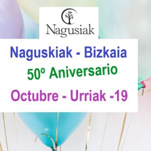 Nagusiak - Bizkaia celebra este año 2021 su 50º aniversario