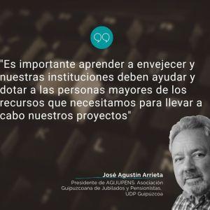 Envejecer con vitalidad, por José Agustín Arrieta
