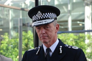 Sir Bernard says the majority of cops will remain unarmed.