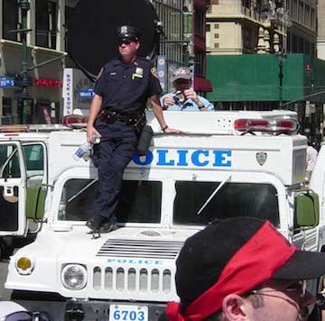 New York's police already use 'sound cannon'. Image: Peter Bergin.com/Wikipedia