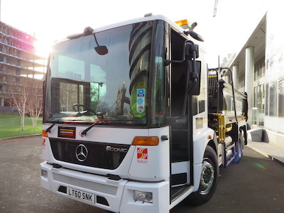 The Mayor and TfL recently demonstrated a cycle-safe HGV with a number of new safety-related design features including a lower cab and larger window.