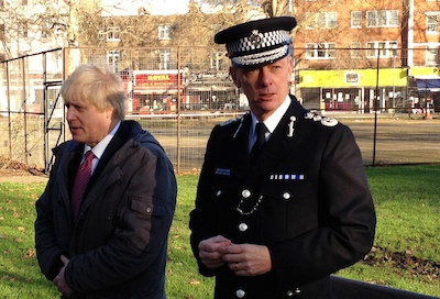 The Mayor oversees policing in the capital.