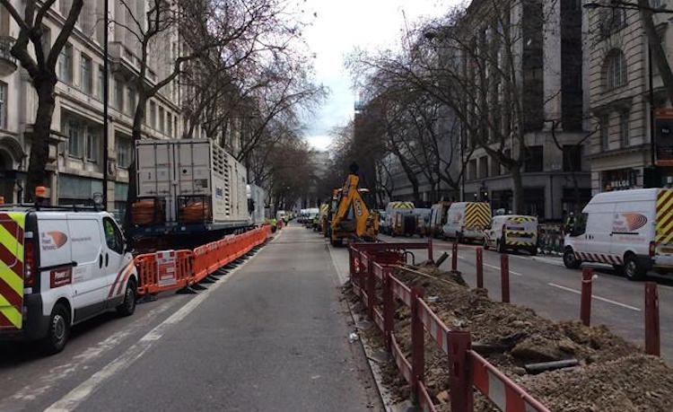 Library image: UK Power Networks teams working n Holborn. Image: UK Power Networks
