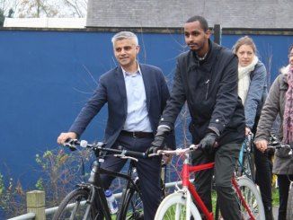 Sadiq to double cycling spending to £770 million over next five years
