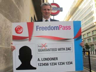 Goldsmith: Labour's fares pledge is a threat to over 60s free travel