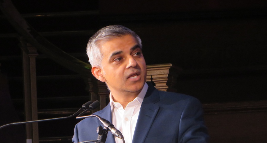 Mayor Sadiq Khan has attacked his predecessor's record on affordable housing