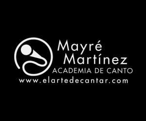 Comienza tus clases de canto con Mayré Martínez, y aprende el arte de cantar. ¡Click aquí!