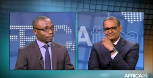 Mays Mouissi & Jemal M. Taleb sur le plateau d'Africa24