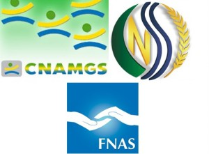 CNAMGS-CNSS-FNAS