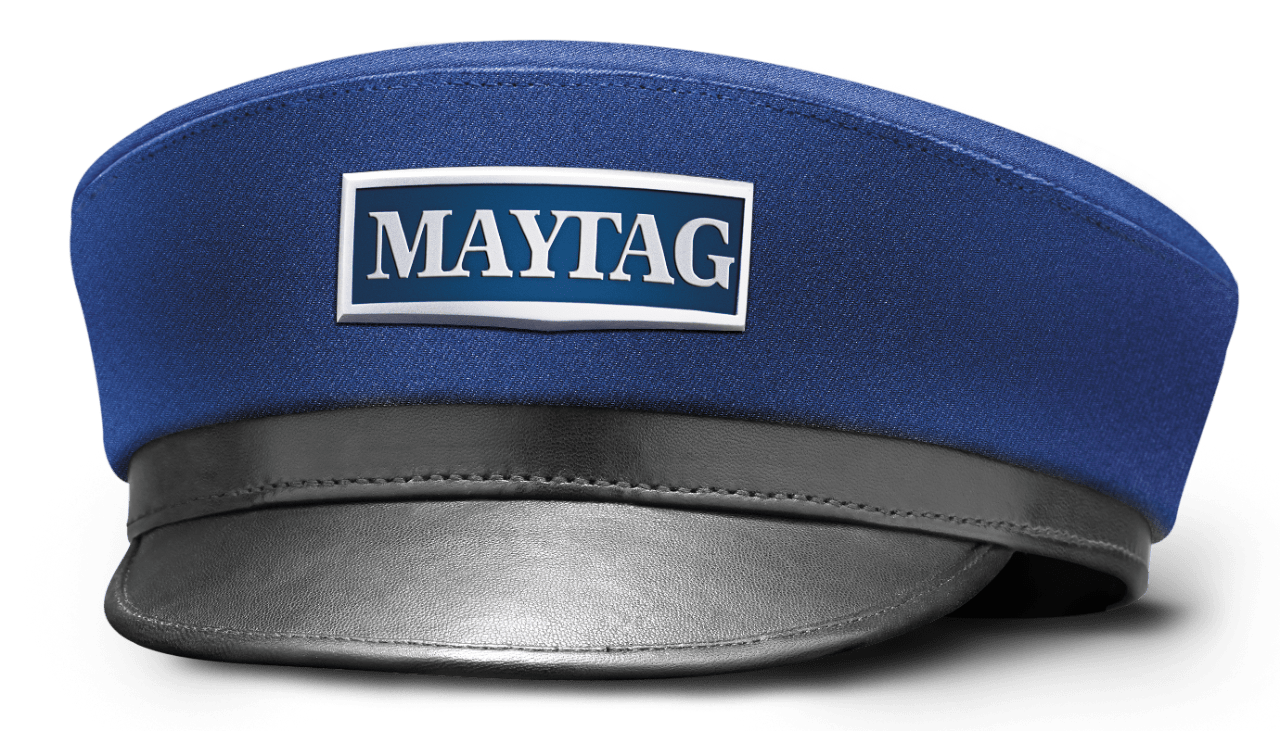 hight resolution of maytag man hat oc