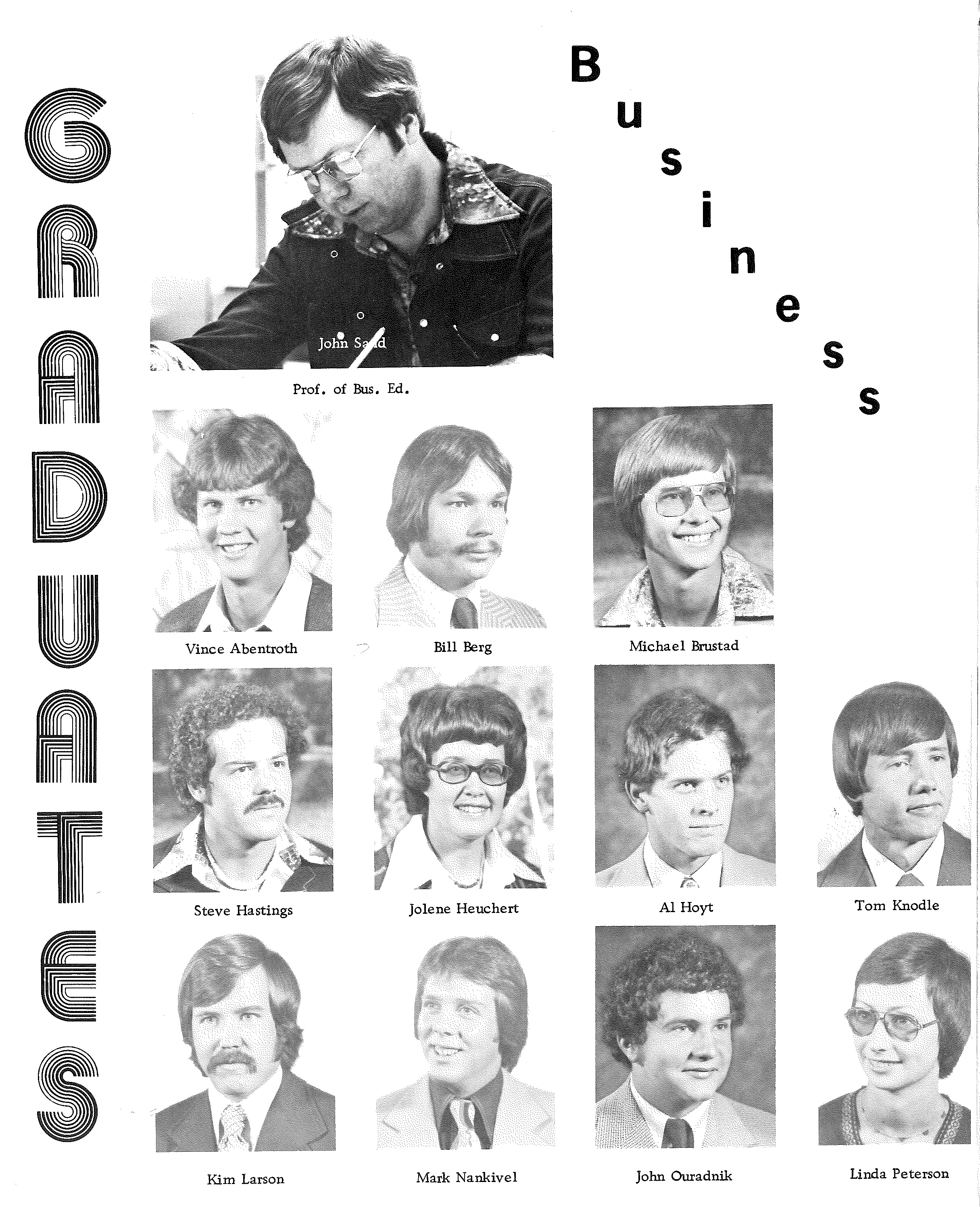 Class of 1977 Yearbook Memories :: Mayville State