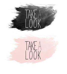 take a look logo