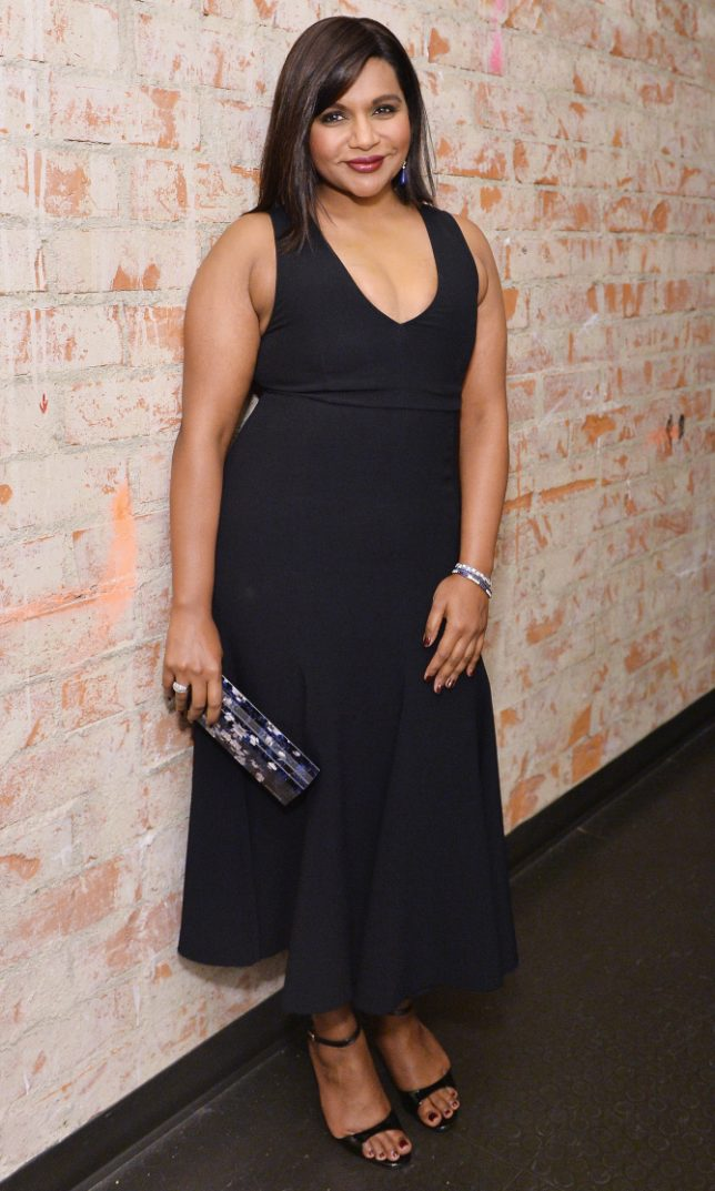 LOS ANGELES, CA - NOVEMBER 14:  Actress Mindy Kaling attends Glamour Women Of The Year 2016 at NeueHouse Hollywood on November 14, 2016 in Los Angeles, California.  (Photo by Stefanie Keenan/Getty Images for Glamour)