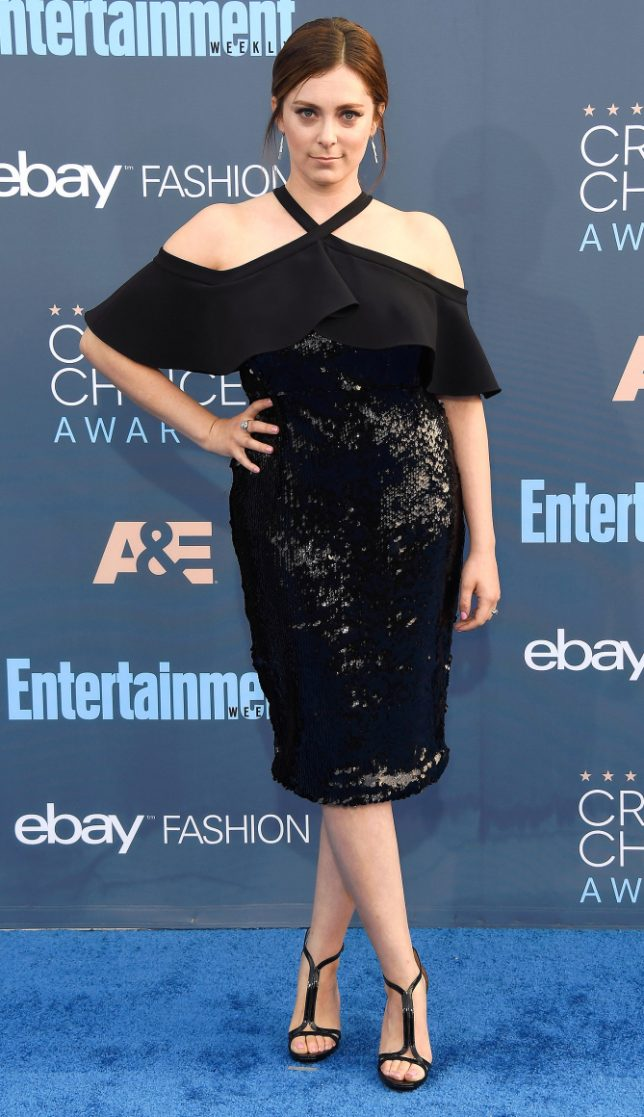 SANTA MONICA, CA - DECEMBER 11: Actress Rachel Bloom attends The 22nd Annual Critics' Choice Awards at Barker Hangar on December 11, 2016 in Santa Monica, California. (Photo by Frazer Harrison/Getty Images)