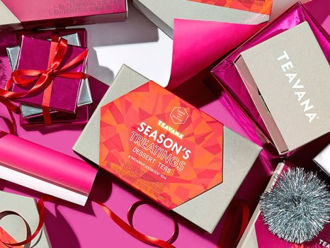 Teavana Holiday Gifts 2016