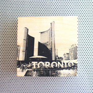 Nathan Phillips Square and Toronto sign, Canada