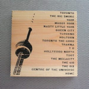 List of Toronto nicknames with a photo of the CN Tower