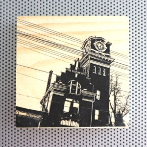 victorian firehall, beaches neighbourhood, power line art, toronto architecture, gifts for presents