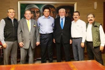 Embajador de Grecia en México Visita Sinaloa