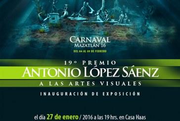 Inauguración exposición Premio Antonio López Sáenz / Lopez Saenz award exhibition opening