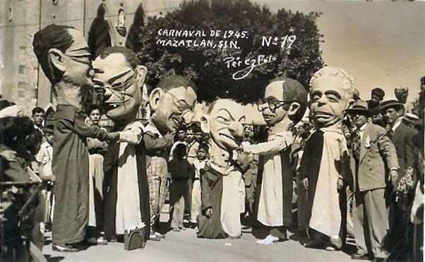 Resultado de imagen para 1944 mazatlan carnaval