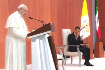 Papa Francisco en Palacio Nacional: México