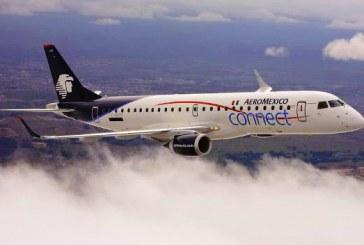 Aeroméxico inicia vuelos Guadalajara y Los Mochis