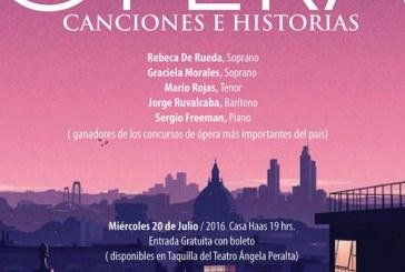 Ópera, canciones e historia