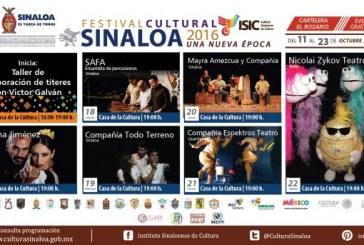 Llega Festival Cultural a Rosario Sinaloa