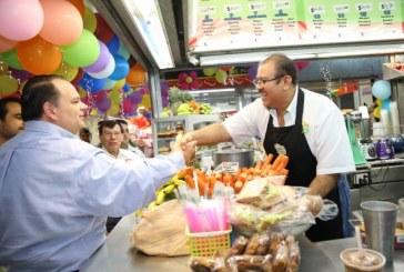 Celebran centenario del Mercado Garmendia