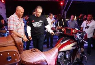 Inaugura el gobernador Quirino Ordaz la Legendaria Semana Internacional de la Moto