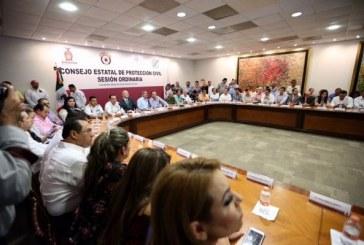 Sinaloa se prepara para impacto de una tormenta o huracán: Quirino Ordaz
