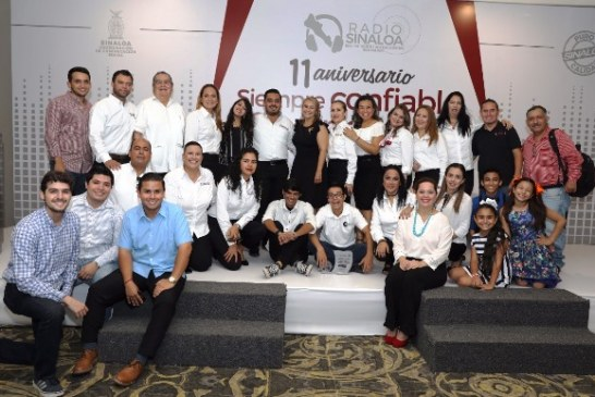 <center>Once años de Transmitir sin Interrupción de Radio Sinaloa</center>