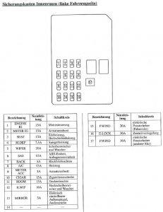 Stromlaufplan Mazda 6 Gy