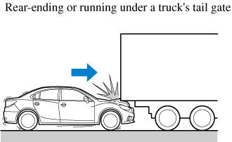 Limitations to side collision detection: