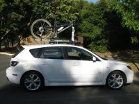 Roof rack system for 2007 mazda 3