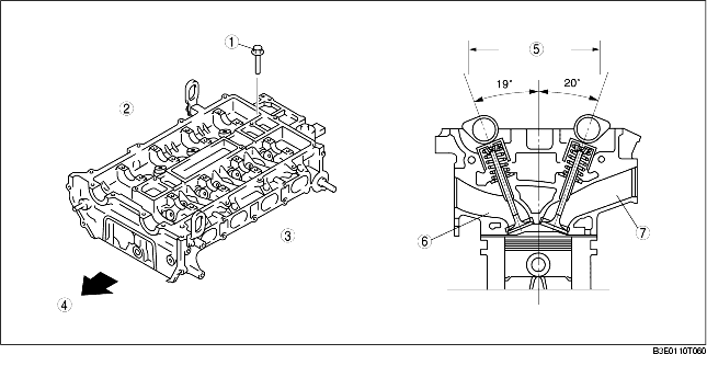 CYLINDER HEAD CONSTRUCTION [LF]