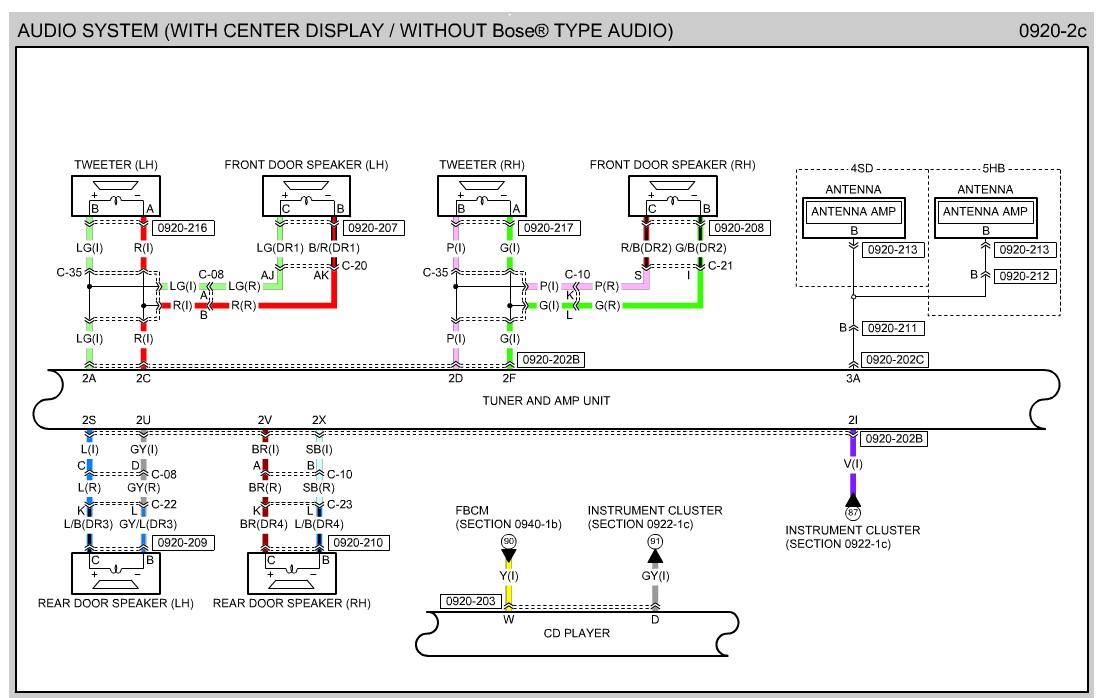 Mazda 3 Speaker Wiring Diagram, Mazda 3 Wiring Diagram Radio