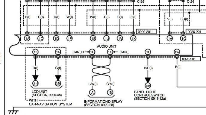 2004 Mazda 6 Radio Wiring Diagram For Your Needs