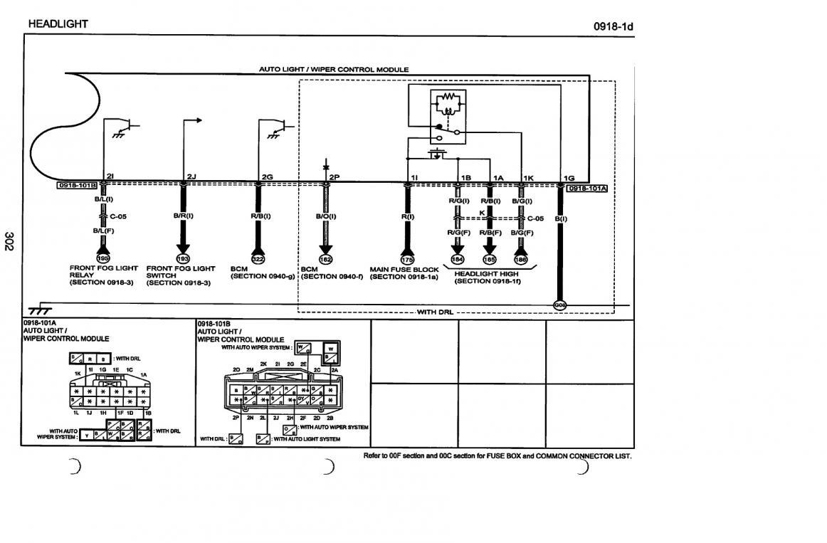 Wiring Diagram Fog Lights 2004 Mazda 6 : 04 Mazda Rx 8
