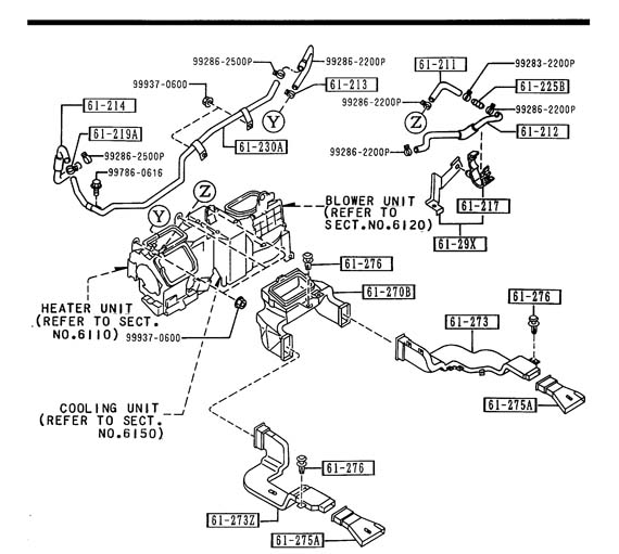 Service manual [1992 Mazda 929 Intake Manifold Uninstall