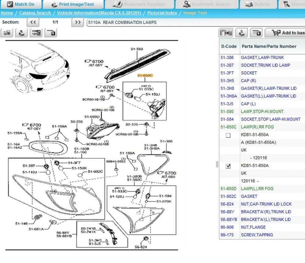 medium resolution of cx5 fog rear uk jpg