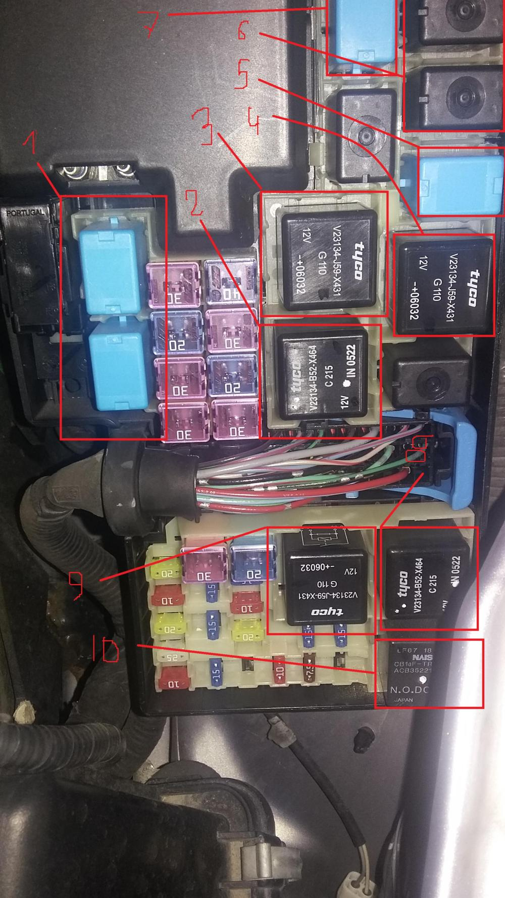 medium resolution of mazda 929 fuse box wiring diagram load fuse and relay box diagram mazda forum mazda enthusiast