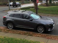 2016 CX-9 Roof Rack Cross Bars - Mazda Forum - Mazda ...