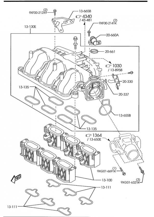 2004 Mazda Tribute Radio Wiring Diagram / 2001 Mazda
