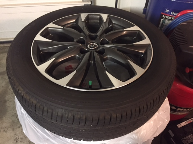 20165 CX5 GT 19 inch rims and tires new  Mazda Forum  Mazda Enthusiast Forums
