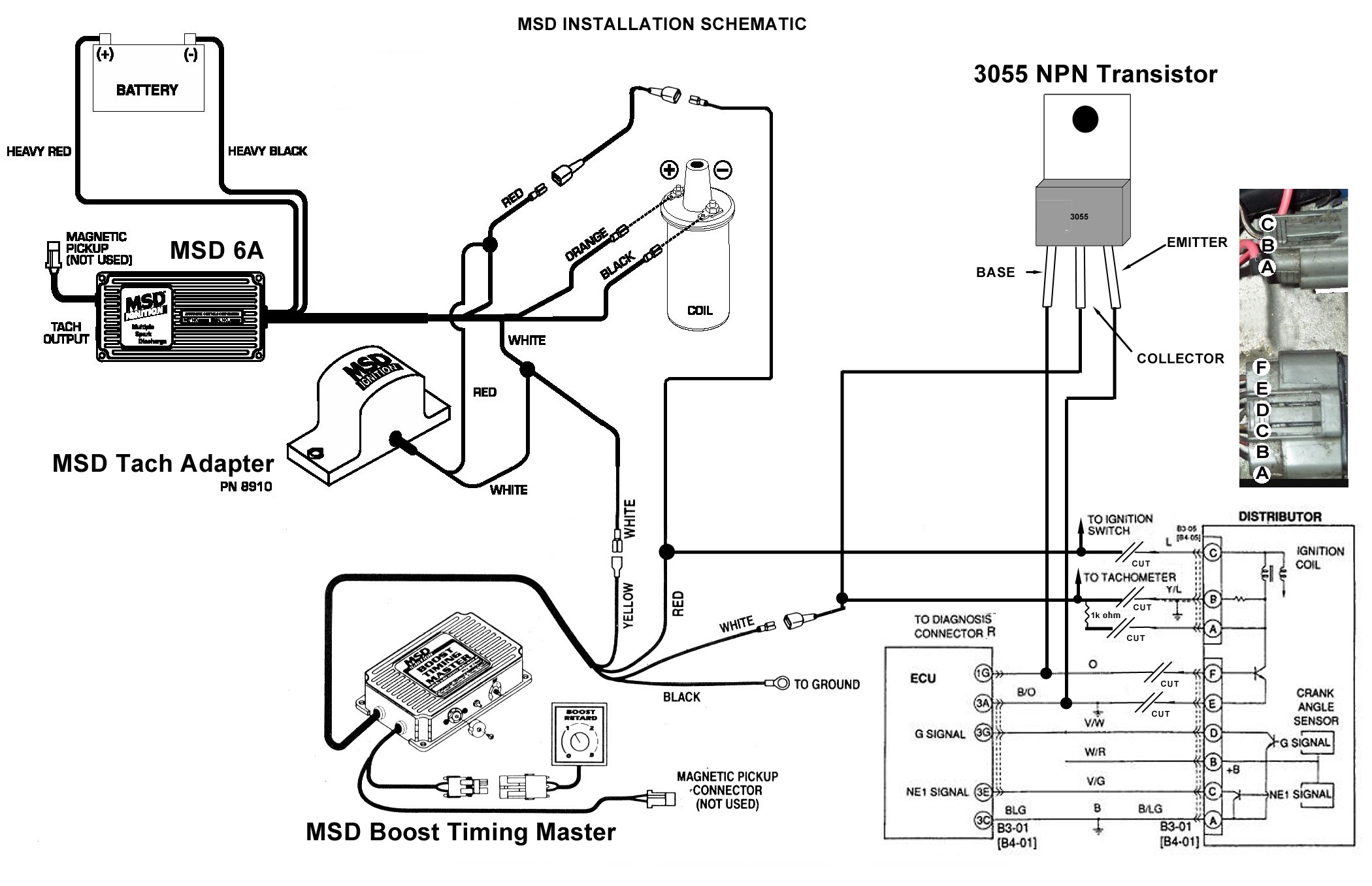Msd Ignition Wiring Diagram How To Megasquirt Your Ford