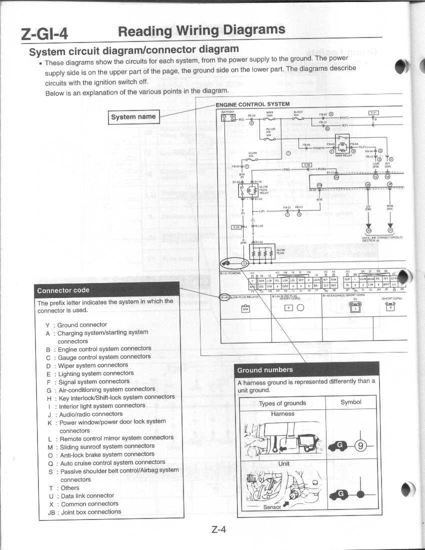 hight resolution of z 004 system circuit connecter jpg