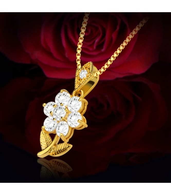 flower-pendant-zirconia-crystal-embellished-18k-gold-plated-necklace