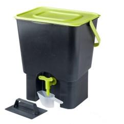 Compost Bin For Kitchen Sink Base Cabinet With Drawers Maze Indoor Composter Bokashi Image